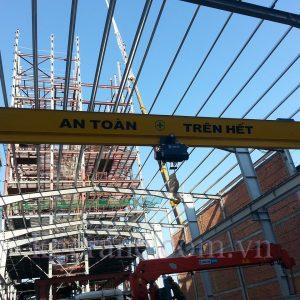 cầu trục hàn quốc kg-cranes 10 tấn